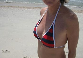 hot wife on vacation