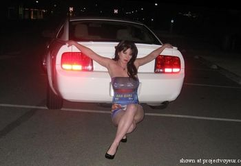 sunni and the 'stang 1