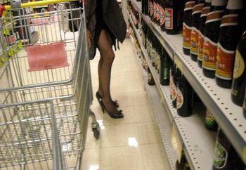 Marlena al supermarket
