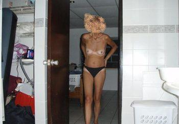 Preparing for showering