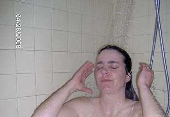 Amy's Shower Time