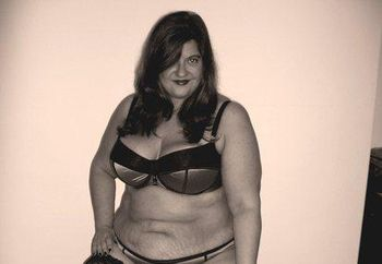 Samantha BBW does Pin Up
