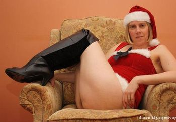 Sexylegs is Mrs Santa Part 2