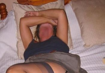 Stockings n sex after cooking outside