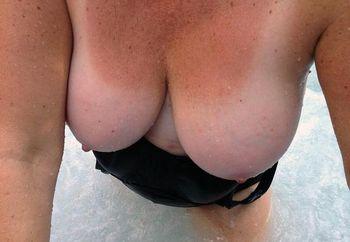 Wife Lauren's Tits