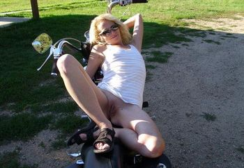 Brandi At The Park