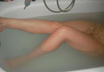 My Hottie in the Bathtub