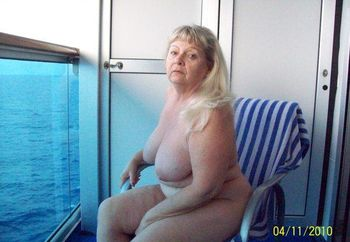 naked on the cruise ship