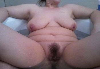 Wife Bathing