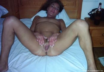 Wife Anja loves to show