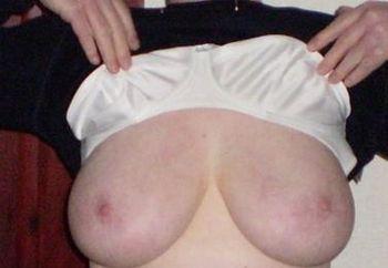 Flashing my tits