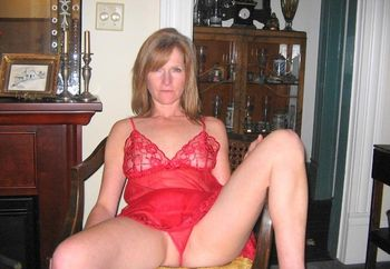 Milf in Red