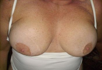 wife showing