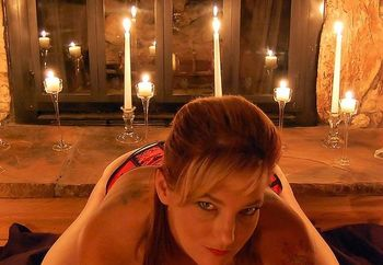 Corset and candle light