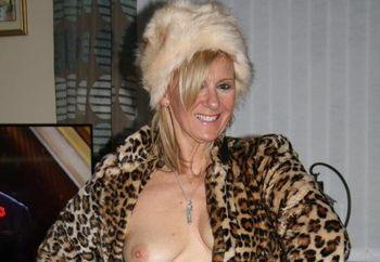 Fur Coat & Hat
