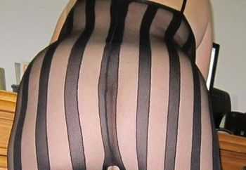 mature in a bodystocking
