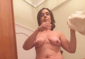 Mi mujer en bolas