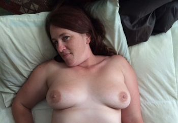 Sexy Fiancé on the Bed