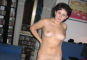 naked in my home