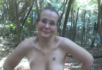 Cum play with me in the bush