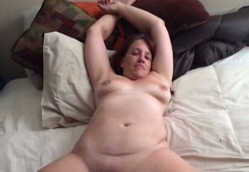 Hot Milf on Bed