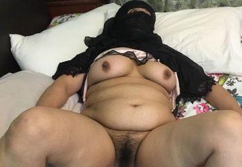 Burqa wife