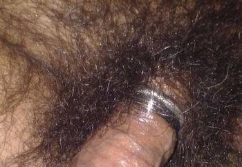 My Big Hard Oiled Cock In Public