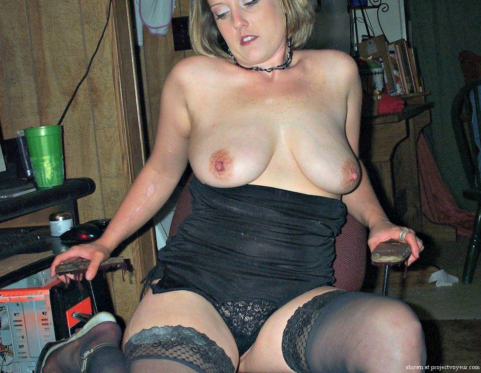 my wife flashing - image5