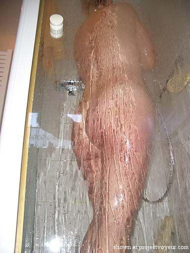 my mature in the shower - image4