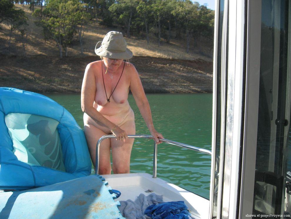The wife skinny dipping - image3