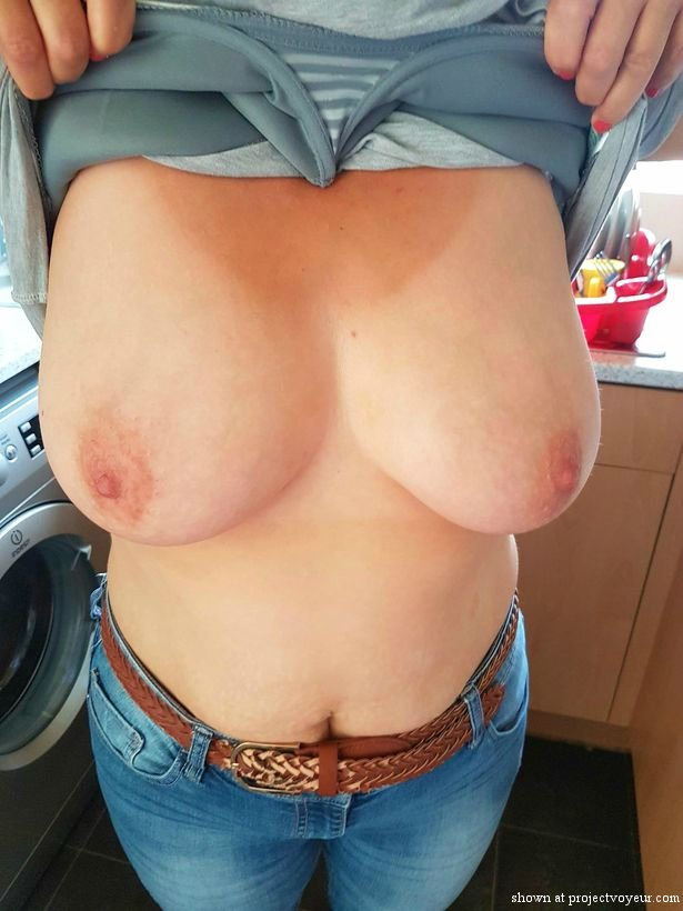 She likes to show tits - image1