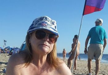 grandma at nude beach