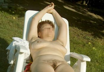 my nude hairy wife