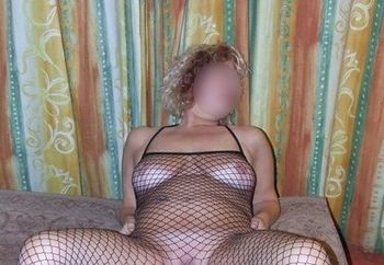 Mature Louise - Fishnet Outside & Inside