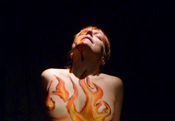 lil minx on fire