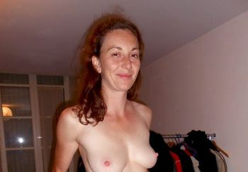 French redhead wife