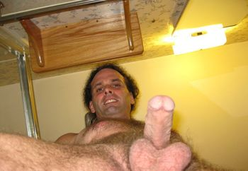 My hairy cock