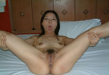 My nice hairy pinay pussy and tits