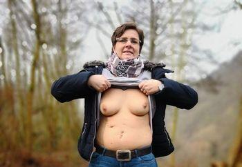 chubby  Anna outdoor