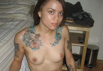 first time - showing my tats