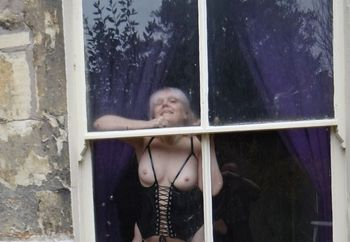 lil minx at the window