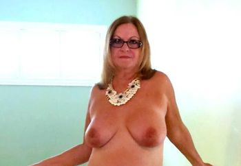 Sexy Mature Striptease!