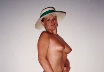 My naked wife 20 years ago