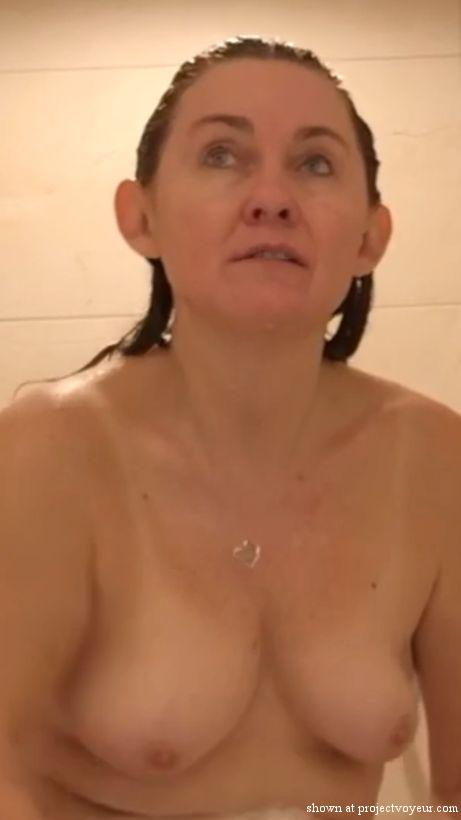 Sexy Christi in the shower - image4