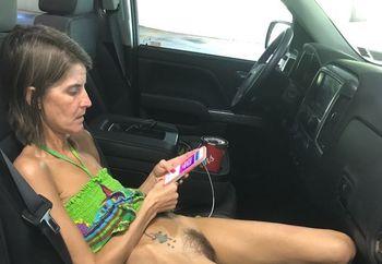 Skinny wife upskirt