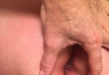 Wifey's tight pink butthole