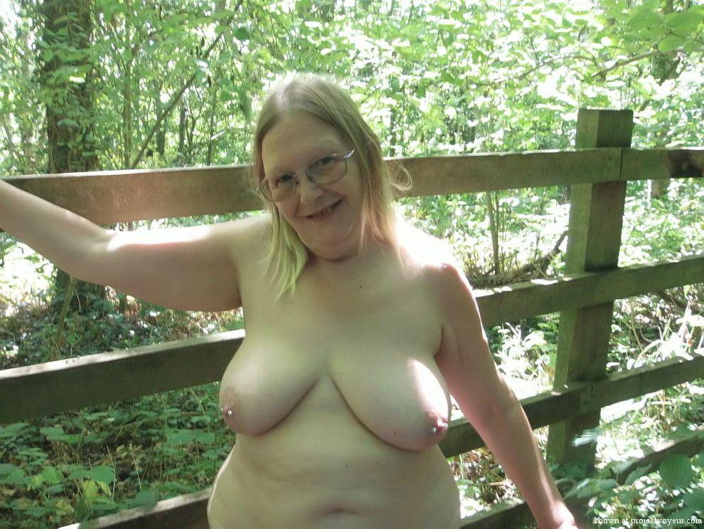 Susan in the woods - image2