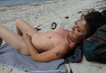 Surprise...My body on the beach!!
