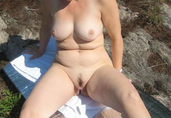 outdoors naked