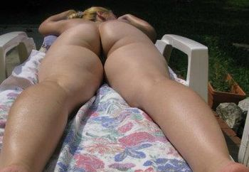 Christina Sunbathing Nude (part2)